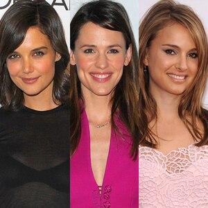 Katie Holmes, Jennifer Garner, Natalie Portman