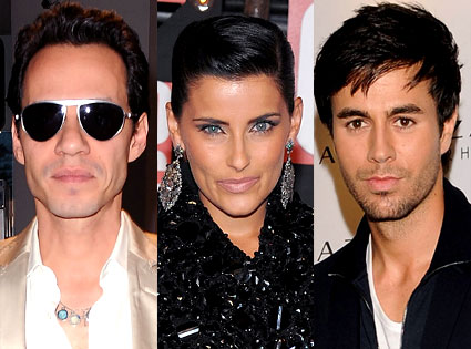 Marc Anthony, Nelly Furtado, Enrique Iglesias