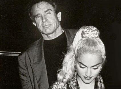 Warren Beatty, Madonna