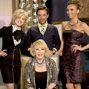 Fashion Police Show, Goerge Kotsiopoulos, Kelly Osbourne, Giuliana Rancic, Joan Rivers