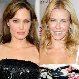 Angelina Jolie, Chelsea Handler