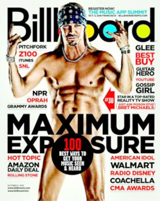Brett Michaels, Billboard Magazine