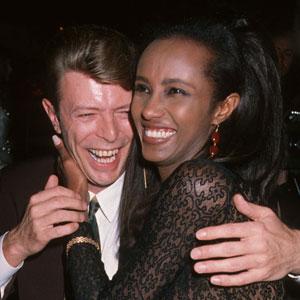 David Bowie, Iman