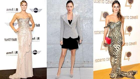 Heidi Klum, Megan Fox, Rachel Bilson