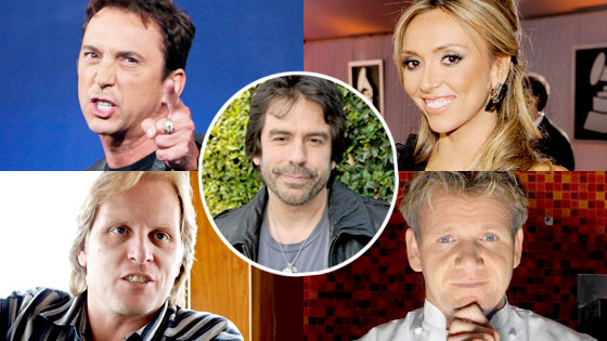 Week in Review, Bruno Tonlioni, Giuliana Rancic, Sig Hansen, Gordon Ramsay, Greg Giraldo