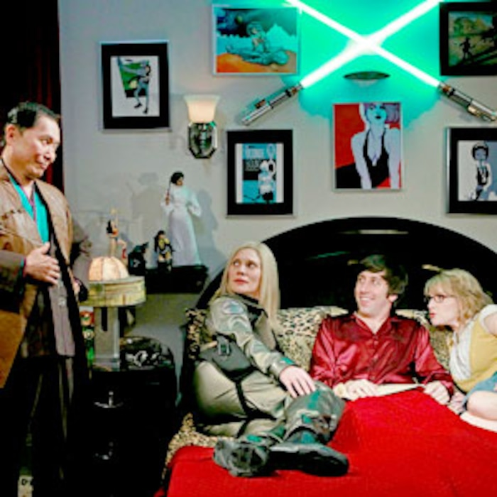 Katee Sackhoff, George Takei, Melissa Rauch, Simon Helberg, The Big Bang Theory