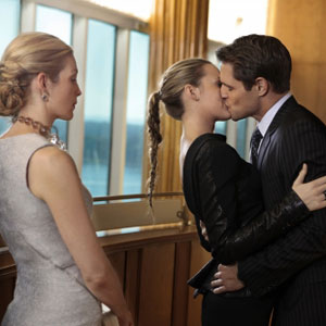 Blake Lively, Sam Page, Kelly Rutherford, Gossip Girl