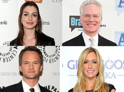 Anne Hathaway, Tim Gunn, Neil Patrick Harris, Kristin Cavallari