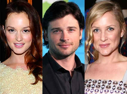 Leighton Meester, Tom Welling, Jessica Capshaw
