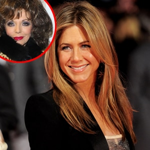 Jennifer Aniston, Joan Collins