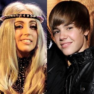 Lady Gaga, Justin Bieber
