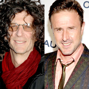 Howard Stern, David Arquette