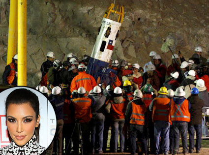 Kim Kardashian, Chilean Miners