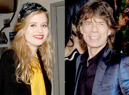 Georgia Jagger, Mick Jagger