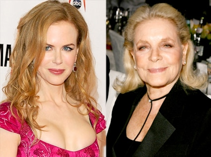 Nicole Kidman, Lauren Bacall