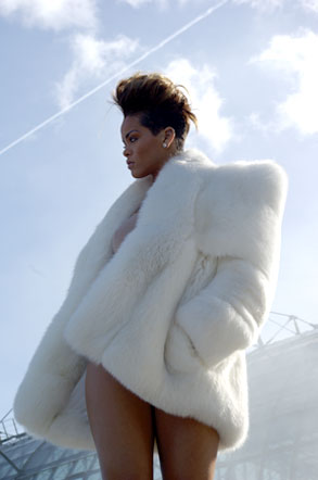 Rihanna, Book Cover Photo Shoot