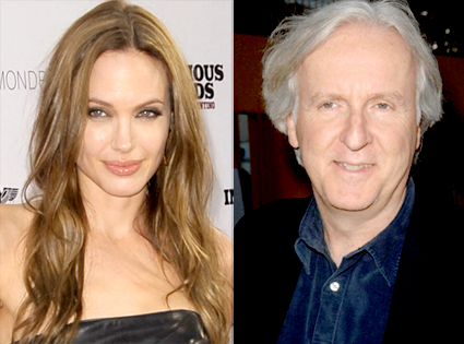 Angelina Jolie, James Cameron