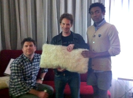James Murphy, Seth Green, Donald Glover