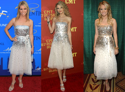 Taylor Swift, Carrie Underwood, Cheryl Hines