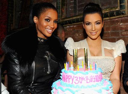 Ciara, Kim Kardashian