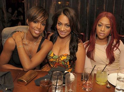 Kelly Rowland, Lala Vasquez, Trina