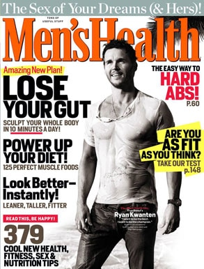 Ryan Kwanten, Men's Fitness Magazine Cover