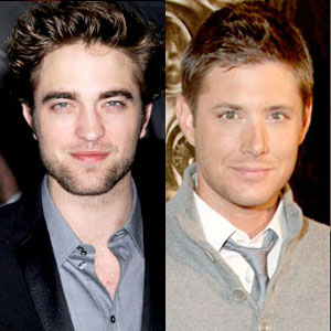 Jensen Ackles, Robert Pattinson