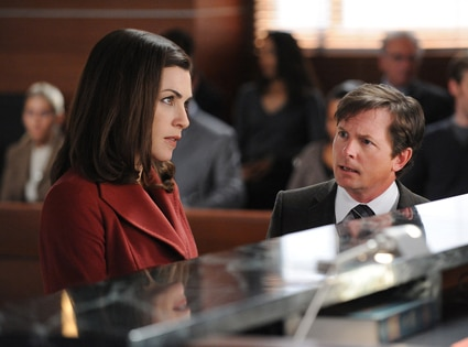 Julianna Margulies, Michael J. Fox, The Good WIfe