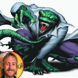 Lizard, Spiderman, Rhys Ifans