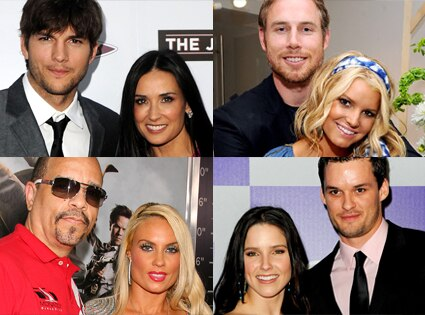 Ashton Kutcher, Demi Moore, Eric Johnson, Jessica Simpson, Ice-T, Coco, Sophis Bush, Austin Nichols