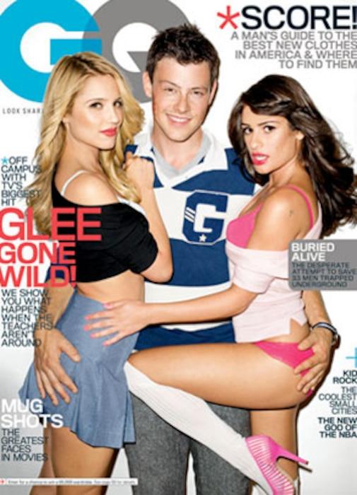 Glee, GQ Cover