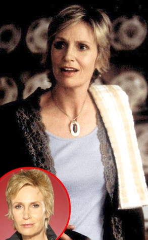 Jane Lynch, Glee, Dawson's Creek