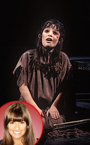 Lea Michele, Glee, Les Miserables
