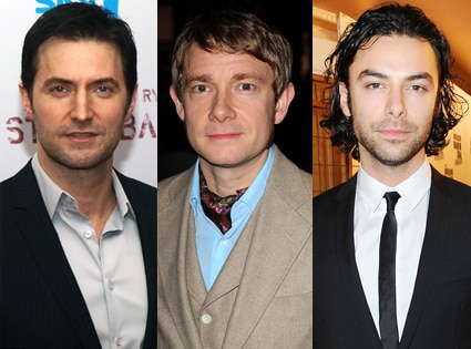 Richard Armitage, Martin Freeman, Aidan Turner