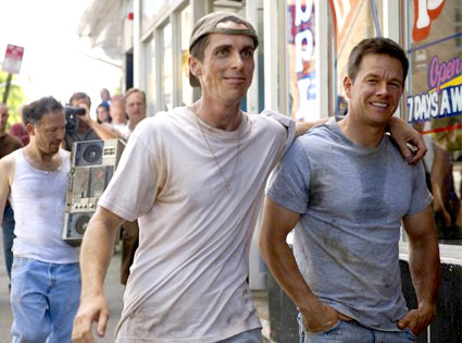 Christian Bale, Mark Wahlberg,The Fighter