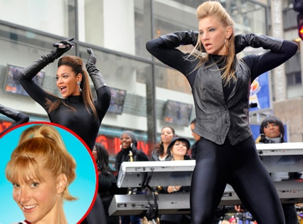 Heather Morris, Glee, Beyonce