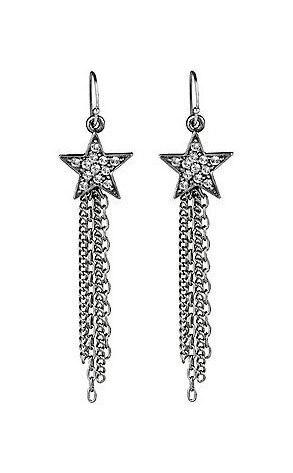 Ben Amun Star Earrings with Swarovski Elements