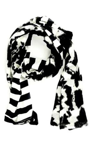 Isaac Tie-Dye Wool Scarf