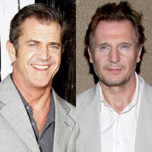 Mel Gibson, Liam Neeson