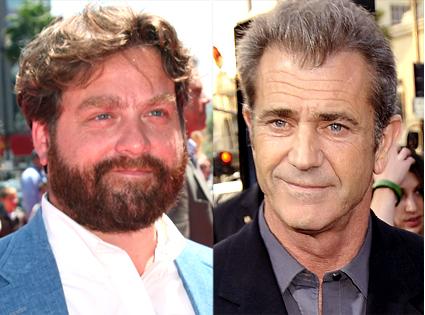 Mel Gibson, Zach Galifianakis