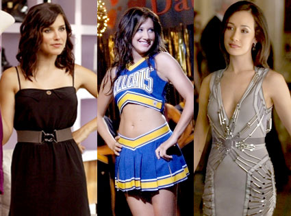 Sophia Bush, One Tree Hill, Ashley Tisdale, Hellcats, Maggie Q, Nikita
