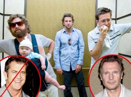 Hangover, Mel Gibson, Liam Neeson