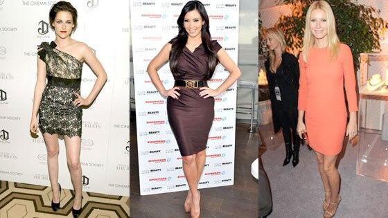 Kristen Stewart, Kim Kardashian, Gwyneth Paltrow