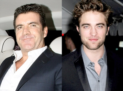 Simon Cowell, Robert Pattinson