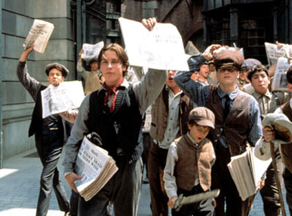 Newsies, Christian Bale