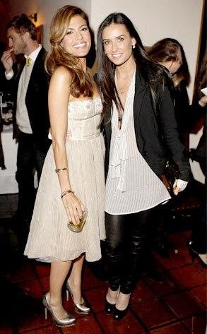 Eva Mendes, Demi Moore