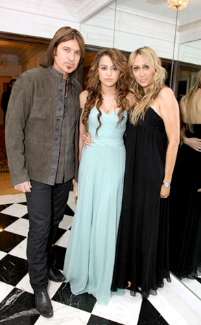 Billy Ray Cyrus, Miley Cyrus, Tish Cyrus