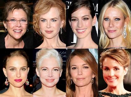 Annette Bening, Anne Hathaway, Nicole Kidman, Gwyneth Paltrow Natalie Portman, Michelle Williams, Diane Lane, Noomi Rapace
