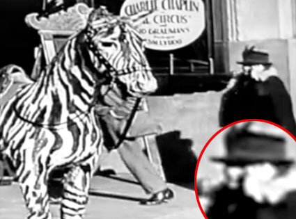 Charlie Chaplin Time Traveler Video