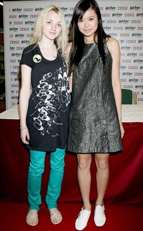 Evanna Lynch, Katie Leung